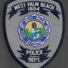 West Palm Beach Florida Police Patch
