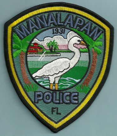 Manalapan Florida Police Patch
