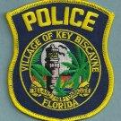 Key Biscayne Florida Police Patch Lighthouse