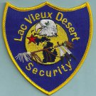 Lac View Desert Wisconsin Tribal Security Police Patch