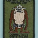 Connecticut State Police Traffic Division Patch Taz