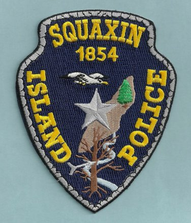 Squaxin Island  Washington Tribal Police Patch