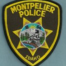 Montpelier Idaho Police Patch
