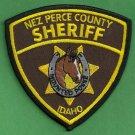Nez Perce County Sheriff Idaho Mounted Posse Police Patch
