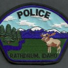 Rathdrum Idaho Police Patch