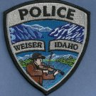 Weiser Idaho Police Patch