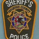 Iroqouis County Sheriff Illinois Police Patch