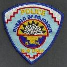 Pueblo of Pojoque New Mexico Tribal Police K-9 Unit Patch
