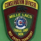 Mille Lac Tribal Minnesota Conservation Officer Enforcement Police Patch