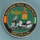 Sevilla Spain Police Motorcycle Unit Patch
