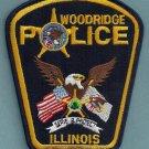 Woodridge Illinois Police Patch