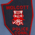 Wolcott Connecticut Police Patch