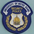 Notre Dame University Indiana Police Patch
