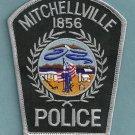 Mitchellville Iowa Police Patch