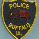 Buffalo Iowa Police Patch