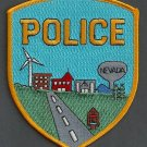 Nevada Iowa Police Patch