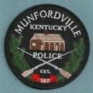 Mundfordville Kentucky Police Patch