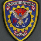 Bonner Springs Kansas Police Patch