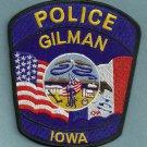 Gillman Iowa Police Patch