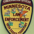 Minnesota Conservation Officer Enforcement Police Patch