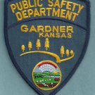 Gardner Kansas Police Patch