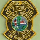 Florida Alcoholic Beverages & Tobacco Police Patch
