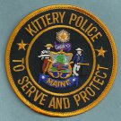 Kittery Maine Police Patch