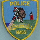 Aquinnah Massachusetts Police Patch