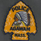 Agawam Massachusetts Police Patch