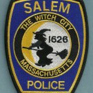 Salem Massachusetts Police Patch