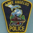 Lake Angelus Michigan Police Patch