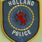 Holland Michigan Police Patch