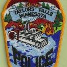 Taylors Falls Minnesota Police Patch