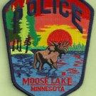 Moose Lake Minnesota Police Patch