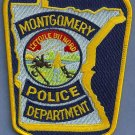 Montgomery Minnesota Police Patch