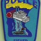 Fisher Minnesota Police Patch