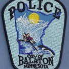 Balaton Minnesota Police Patch