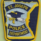 St. Joseph Minnesota Police Patch