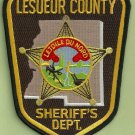 Lesueuer County Sheriff Minnesota Police Patch