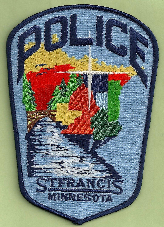 St. Frances Minnesota Police Patch