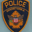 Minnetonka Minnesota Police Patch