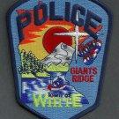 White Minnesota Police Patch