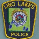 Lino Lakes Minnesota Police Patch