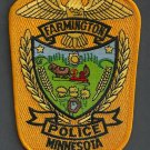 Farmington Minnesota Police Patch