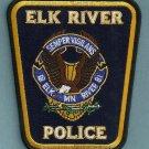 Elk River Minnesota Police Patch
