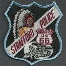 Strafford Missouri Police Patch Locomotive