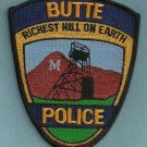 Butte Montana Police Patch