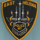 East Helena Montana Police Patch