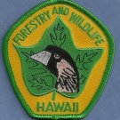 Hawaii Forestry & Wildlife Enforcement Police Patch