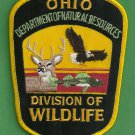 Ohio Division of Wildlife Enforcement Police Patch